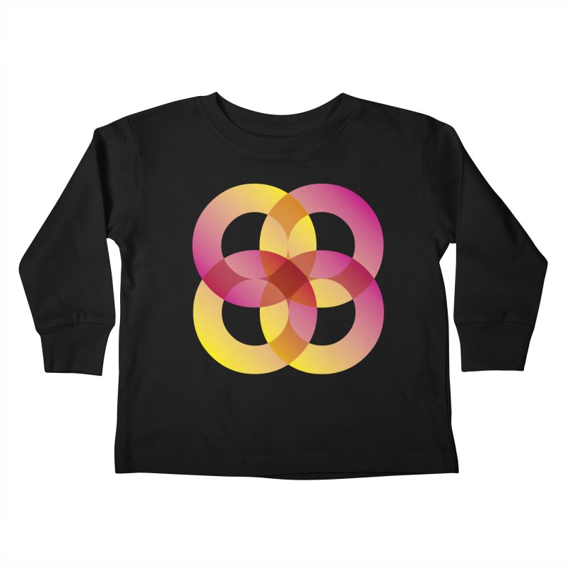 Power Rings Kids Toddler Longsleeve T-Shirt by virbia's Artist Shop