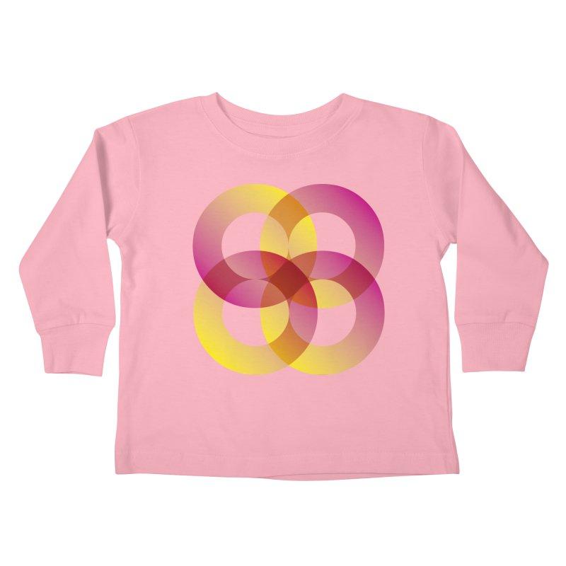 Power Rings Kids Toddler Longsleeve T-Shirt by virbia's Artist Shop