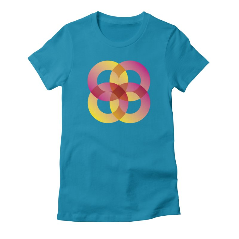 Power Rings Women's T-Shirt by virbia's Artist Shop