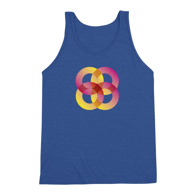 Power Rings Men's Triblend Tank by virbia's Artist Shop