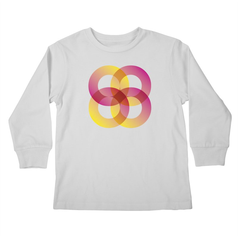 Power Rings Kids Longsleeve T-Shirt by virbia's Artist Shop