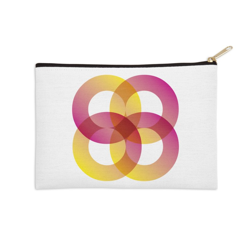 Power Rings Accessories Zip Pouch by virbia's Artist Shop