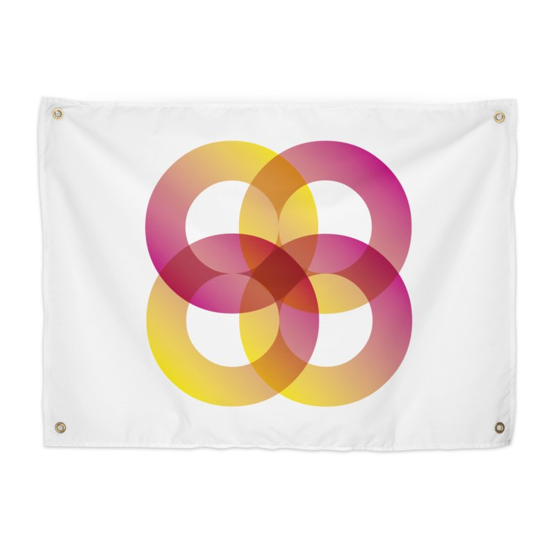 Power Rings Home Tapestry by virbia's Artist Shop