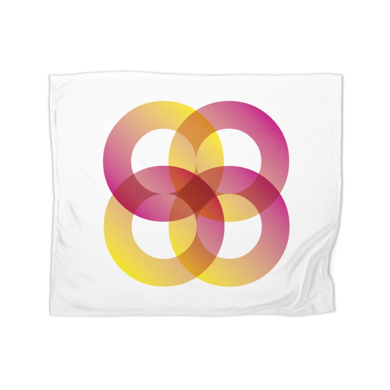 Power Rings Home Blanket by virbia's Artist Shop