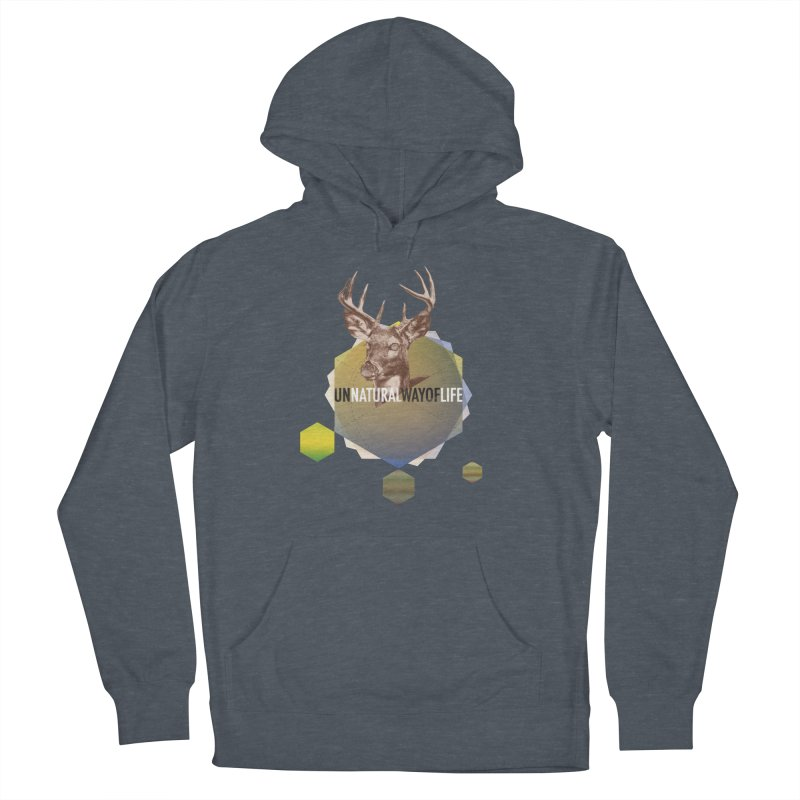Magic Deer Men's Pullover Hoody by virbia's Artist Shop