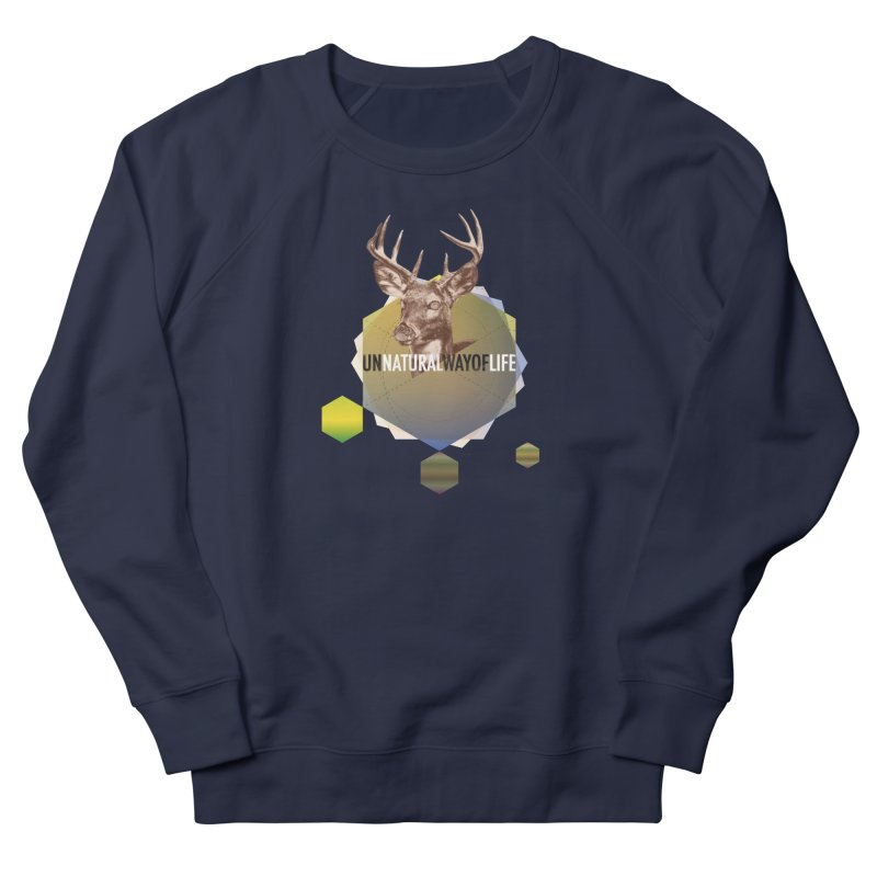 Magic Deer Men's Sweatshirt by virbia's Artist Shop