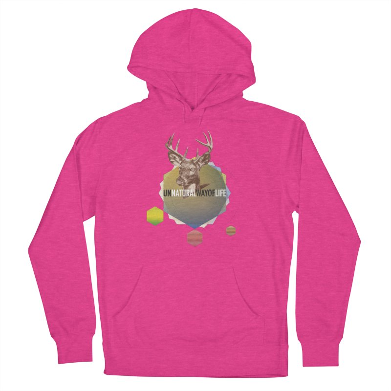 Magic Deer Women's French Terry Pullover Hoody by virbia's Artist Shop