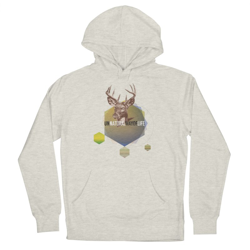 Magic Deer Men's French Terry Pullover Hoody by virbia's Artist Shop