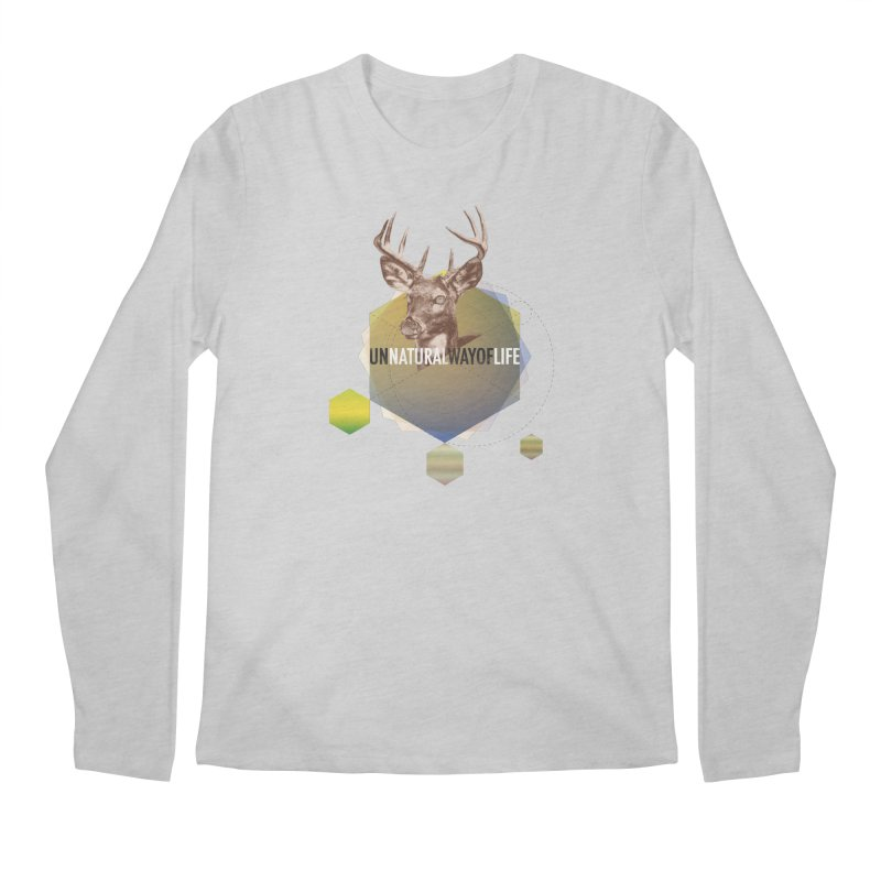 Magic Deer Men's Regular Longsleeve T-Shirt by virbia's Artist Shop