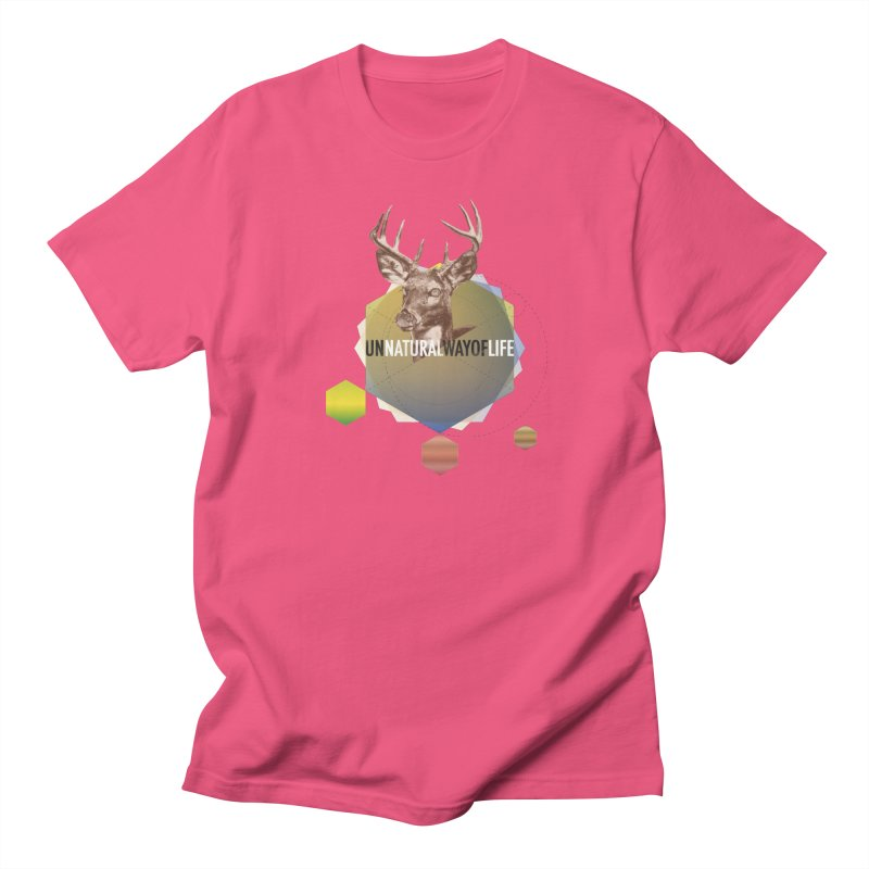 Magic Deer Men's Regular T-Shirt by virbia's Artist Shop