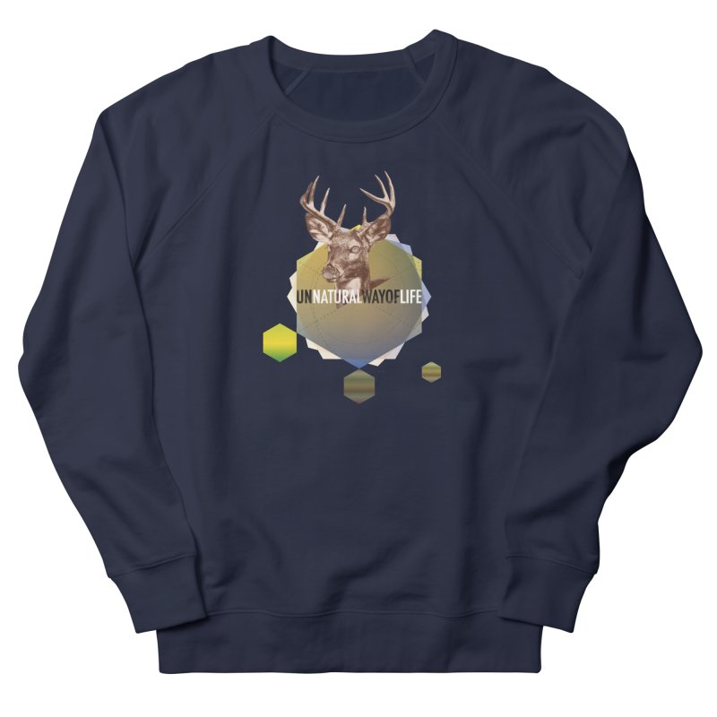 Magic Deer Women's French Terry Sweatshirt by virbia's Artist Shop
