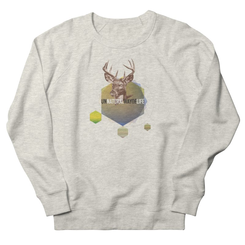 Magic Deer Women's French Terry Sweatshirt by virbia's Artist Shop