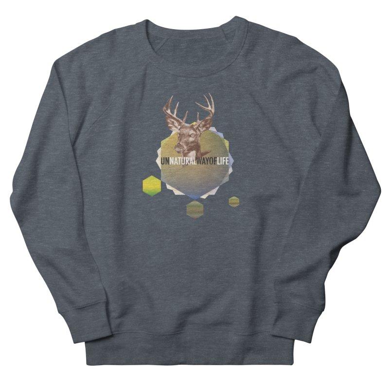 Magic Deer Men's French Terry Sweatshirt by virbia's Artist Shop