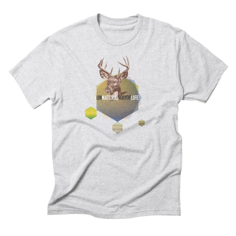 Magic Deer Men's Triblend T-Shirt by virbia's Artist Shop