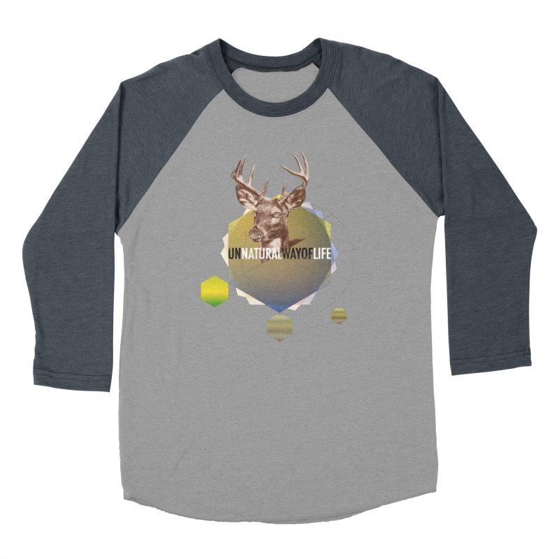 Magic Deer Women's Baseball Triblend Longsleeve T-Shirt by virbia's Artist Shop