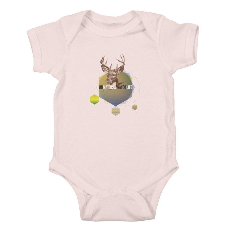 Magic Deer Kids Baby Bodysuit by virbia's Artist Shop