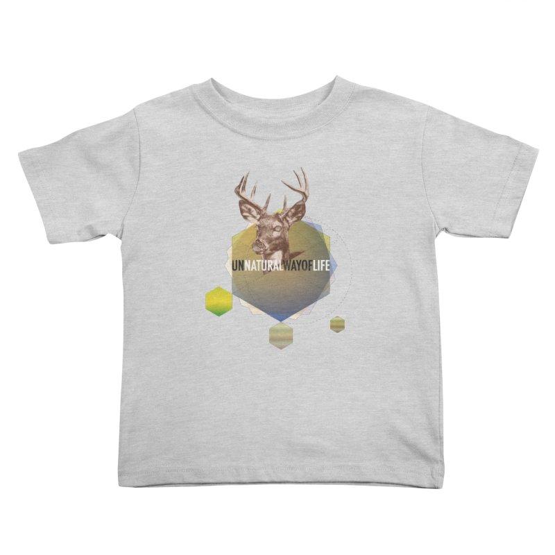 Magic Deer Kids Toddler T-Shirt by virbia's Artist Shop
