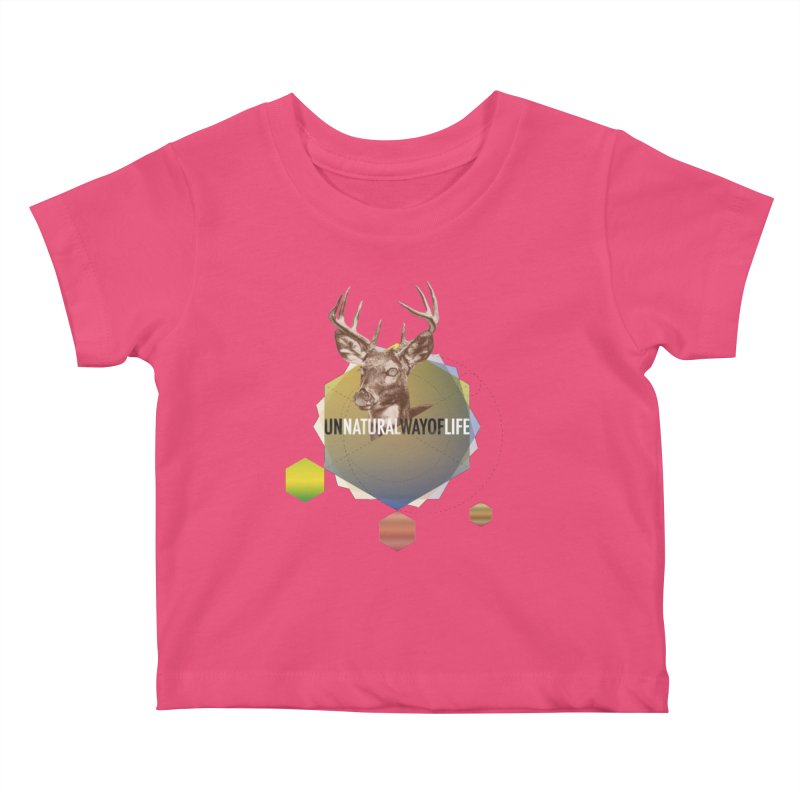 Magic Deer Kids Baby T-Shirt by virbia's Artist Shop