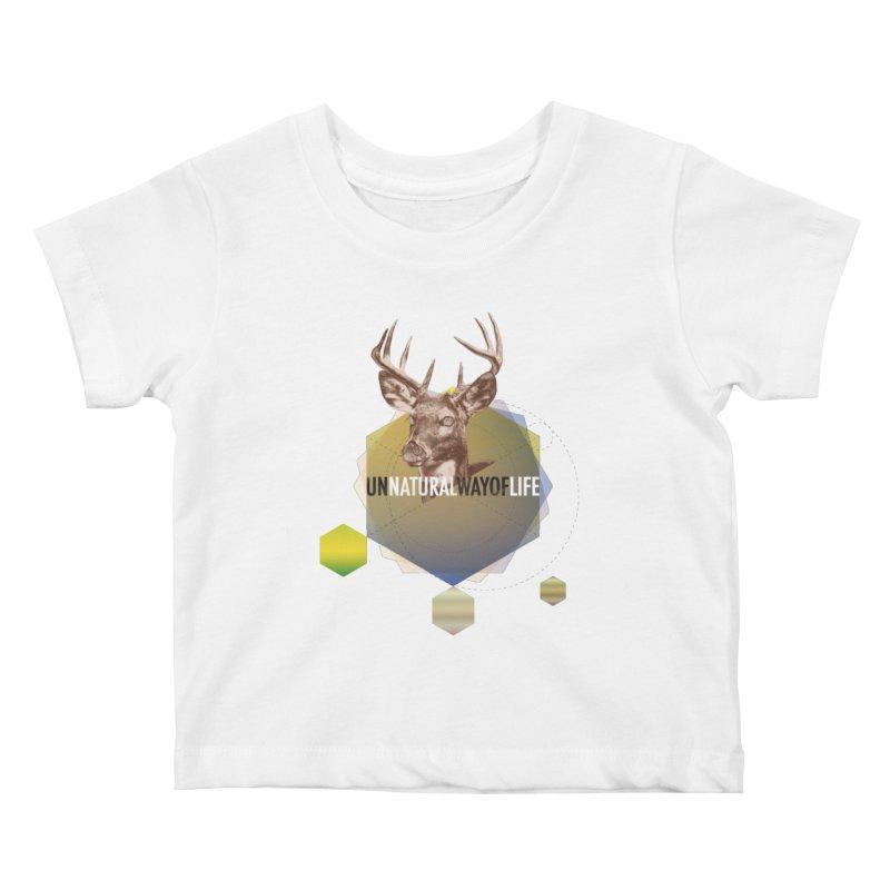 Magic Deer Kids Baby T-Shirt by virbia's Artist Shop