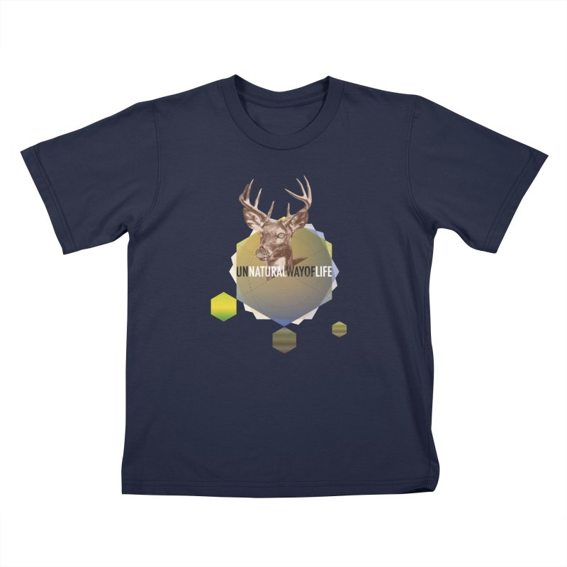 Magic Deer Kids T-Shirt by virbia's Artist Shop