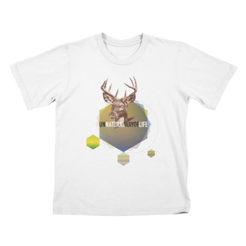 Magic Deer Kids T-Shirt by virbia's Artist Shop