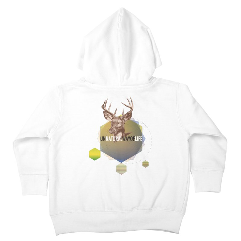 Magic Deer Kids Toddler Zip-Up Hoody by virbia's Artist Shop