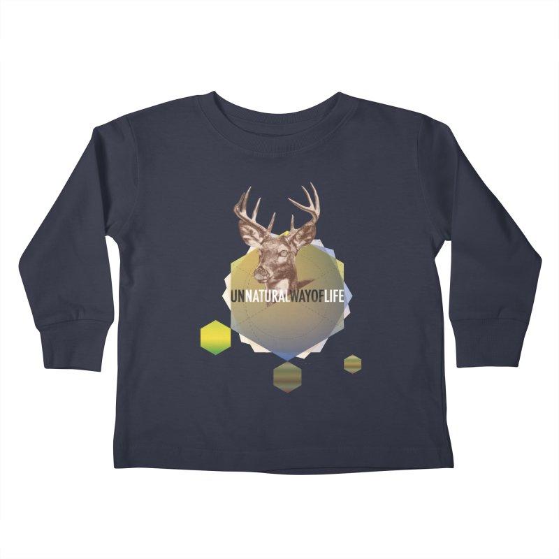 Magic Deer Kids Toddler Longsleeve T-Shirt by virbia's Artist Shop