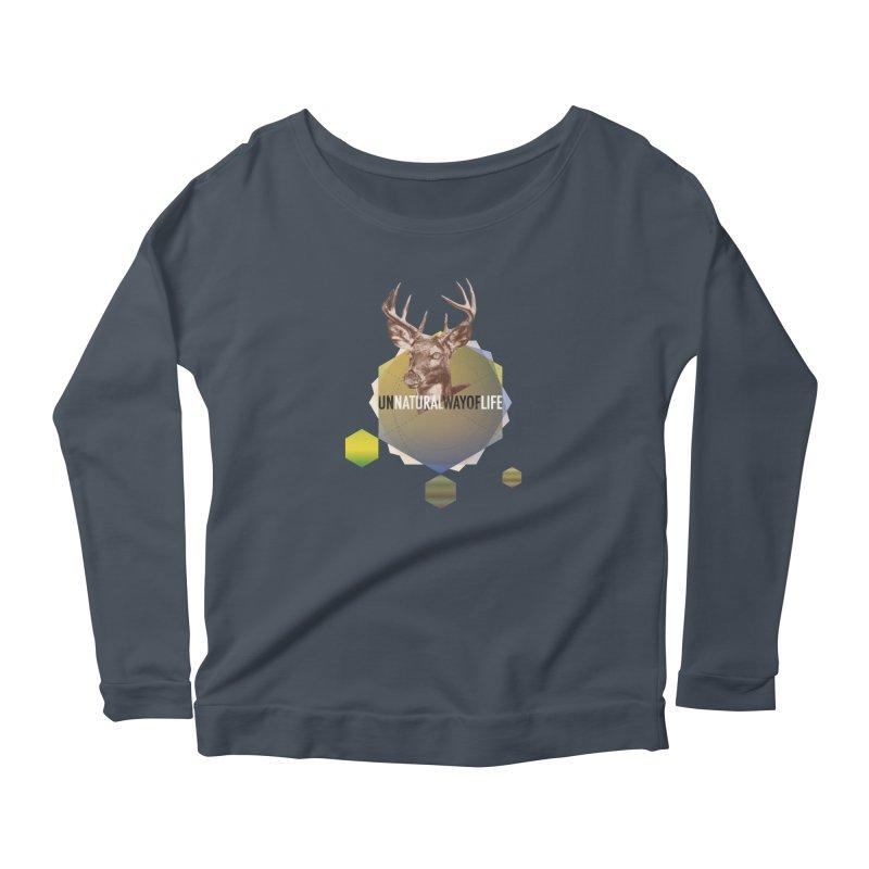 Magic Deer Women's Longsleeve T-Shirt by virbia's Artist Shop