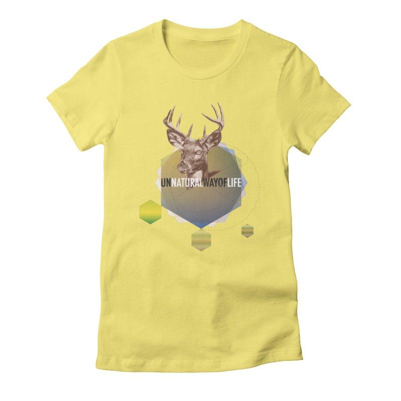 Magic Deer Women's T-Shirt by virbia's Artist Shop