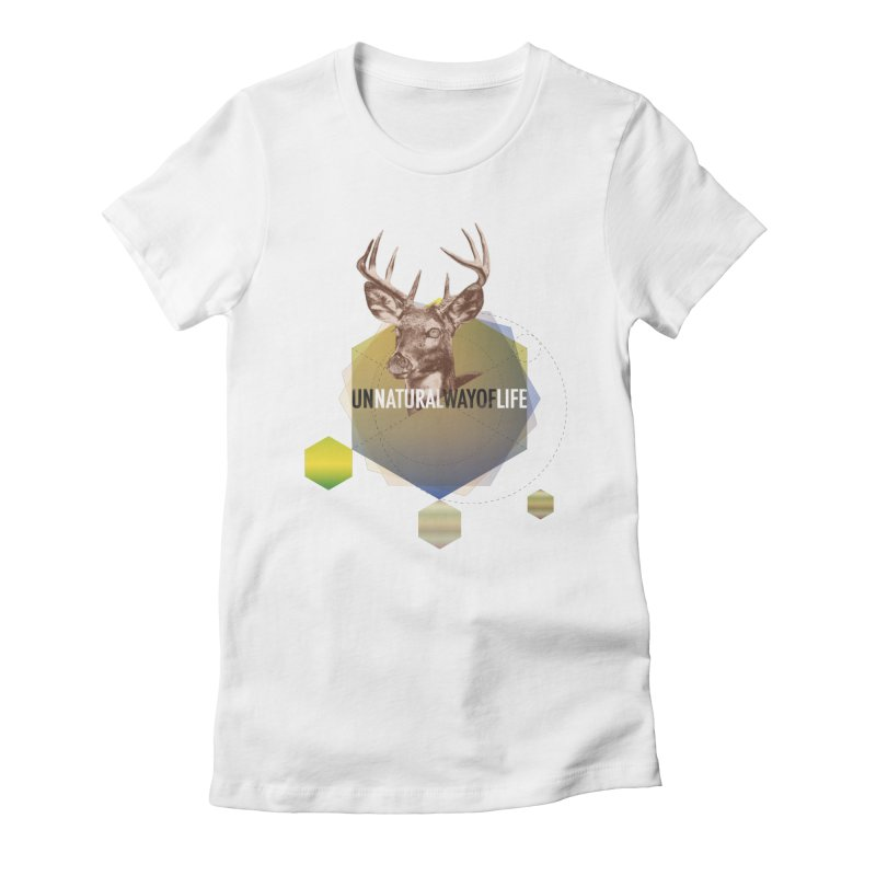 Magic Deer Women's T-Shirt by virbia's Artist Shop