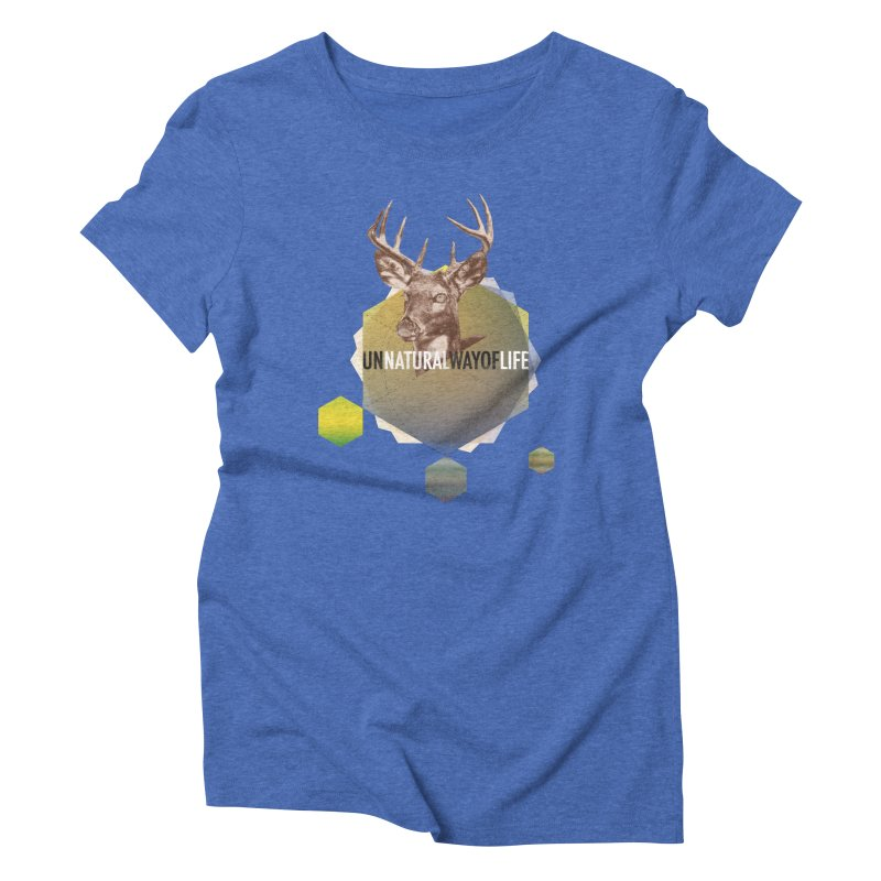 Magic Deer Women's Triblend T-Shirt by virbia's Artist Shop