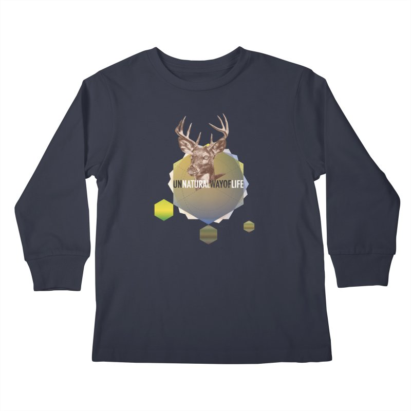 Magic Deer Kids Longsleeve T-Shirt by virbia's Artist Shop