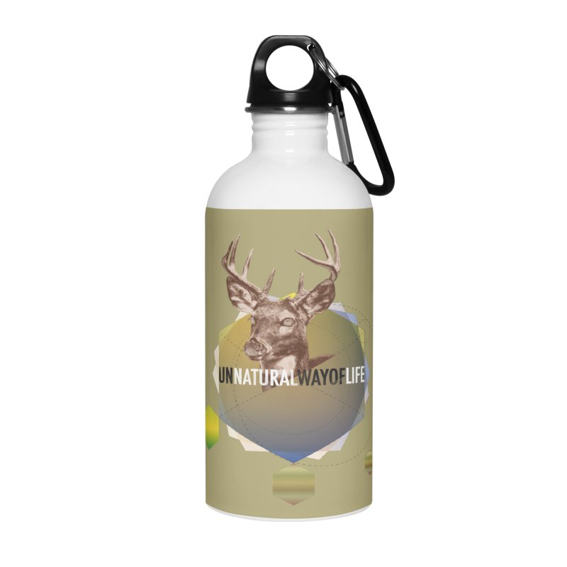 Magic Deer Accessories Water Bottle by virbia's Artist Shop