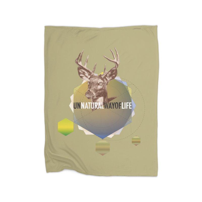Magic Deer Home Blanket by virbia's Artist Shop