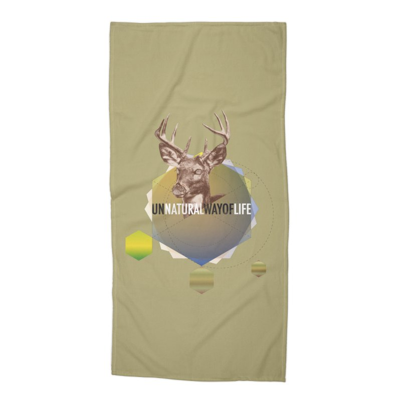 Magic Deer Accessories Beach Towel by virbia's Artist Shop