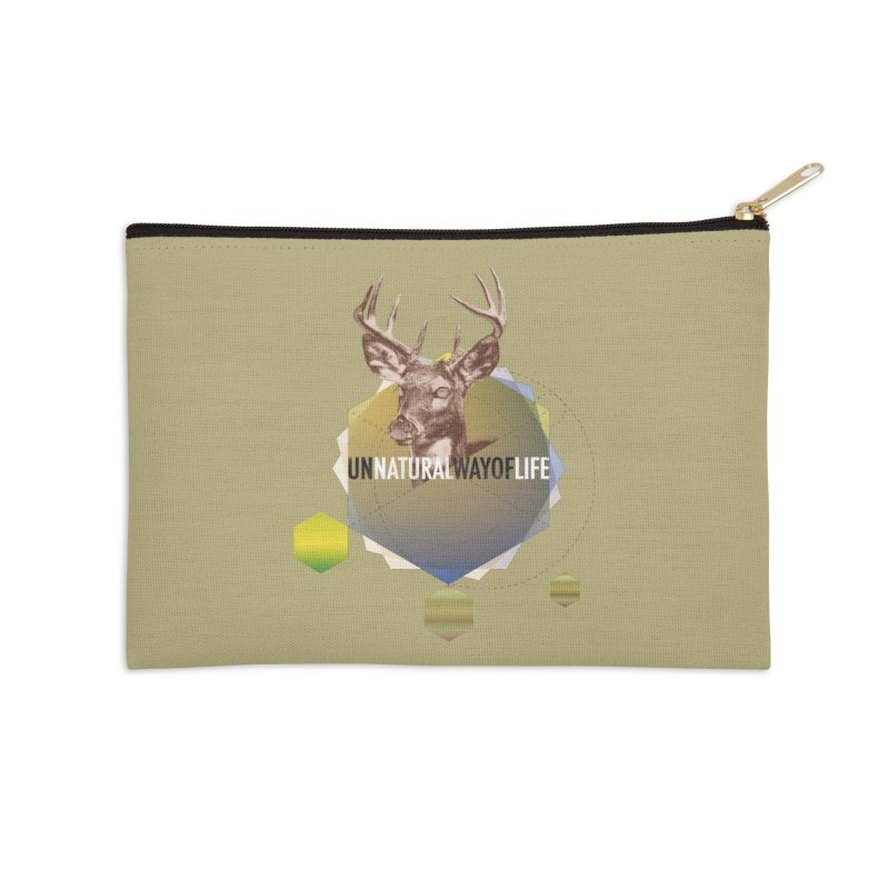 Magic Deer Accessories Zip Pouch by virbia's Artist Shop