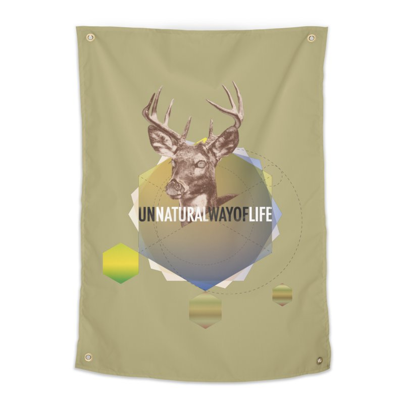Magic Deer Home Tapestry by virbia's Artist Shop