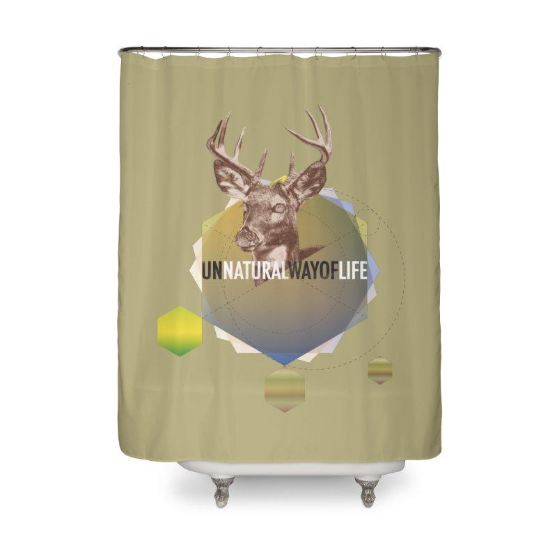 Magic Deer Home Shower Curtain by virbia's Artist Shop