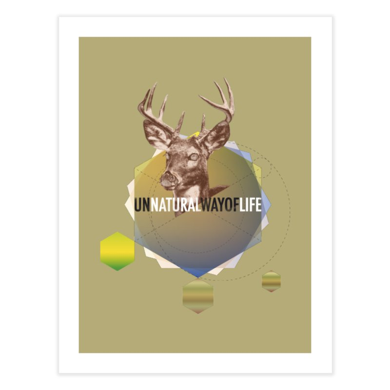Magic Deer Home Fine Art Print by virbia's Artist Shop