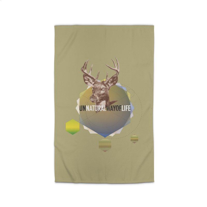 Magic Deer Home Rug by virbia's Artist Shop