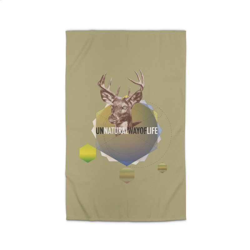 Magic Deer Home Rug by virbia's Artist Shop