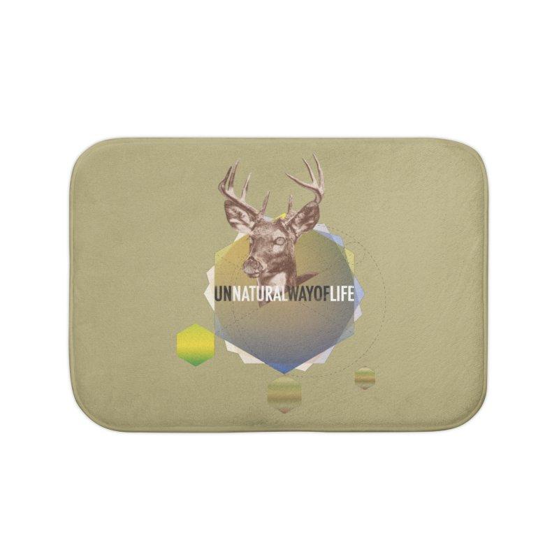 Magic Deer Home Bath Mat by virbia's Artist Shop
