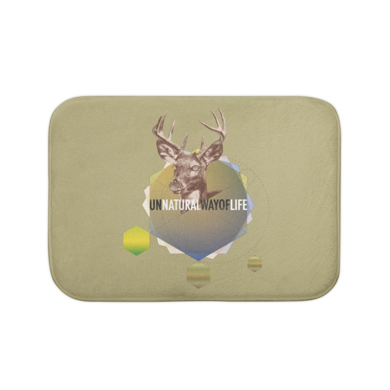 Magic Deer Home Bath Mat by virbia's Artist Shop
