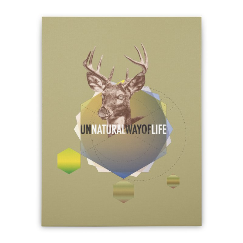 Magic Deer Home Stretched Canvas by virbia's Artist Shop