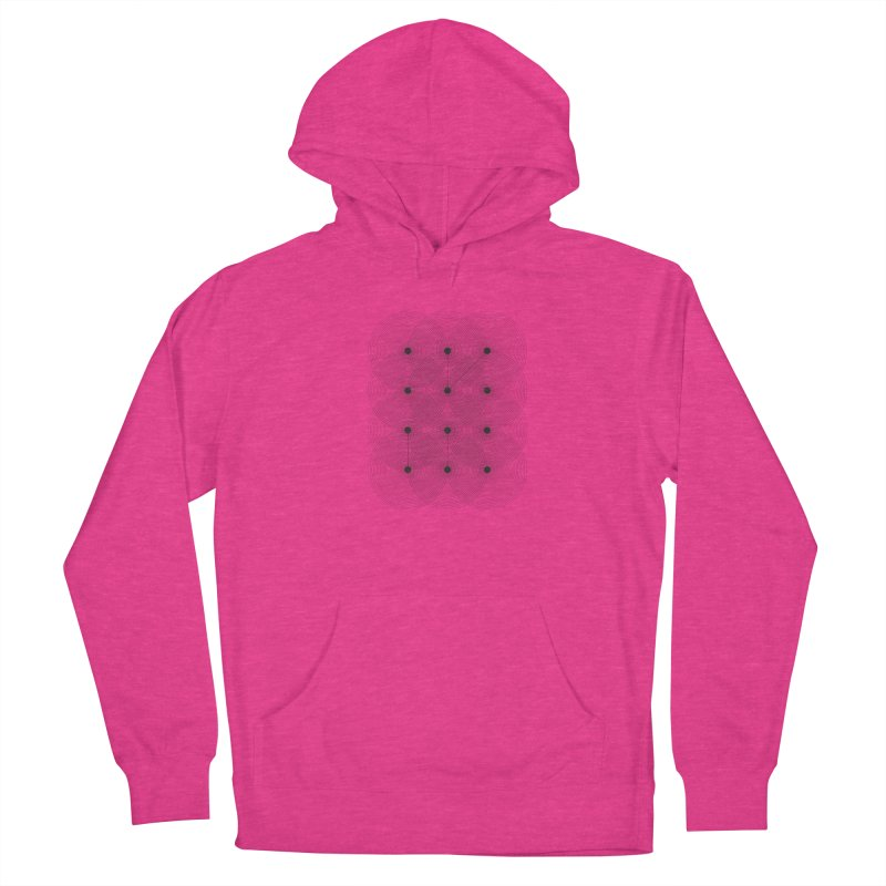 geometrical distortion 1 Women's Pullover Hoody by virbia's Artist Shop