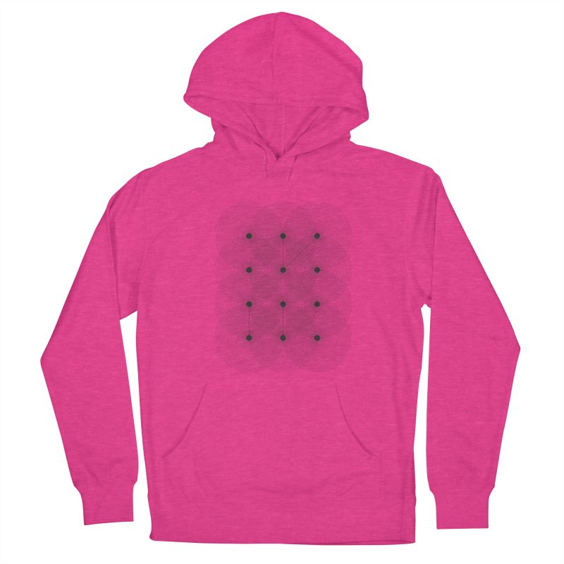 geometrical distortion 1 Women's French Terry Pullover Hoody by virbia's Artist Shop