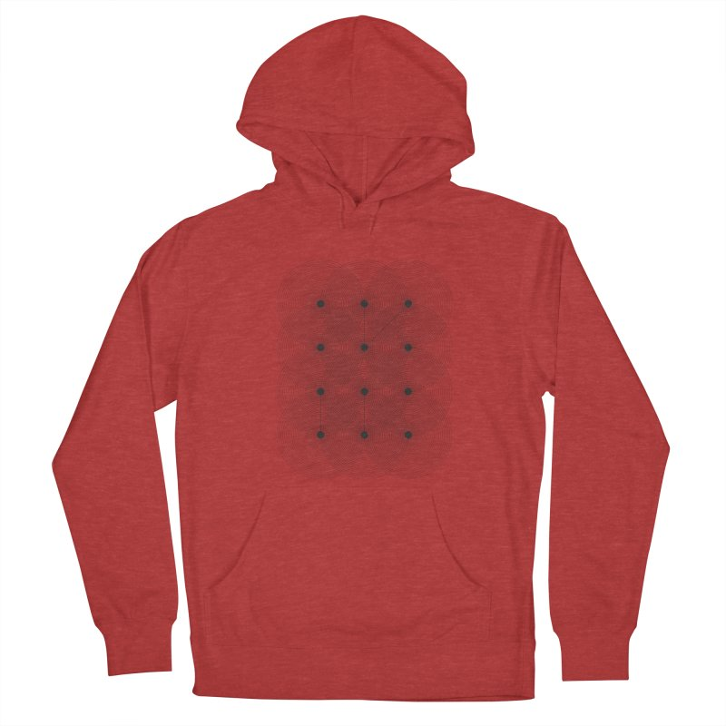 geometrical distortion 1 Men's French Terry Pullover Hoody by virbia's Artist Shop