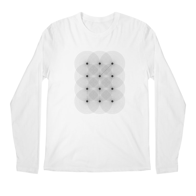geometrical distortion 1 Men's Regular Longsleeve T-Shirt by virbia's Artist Shop