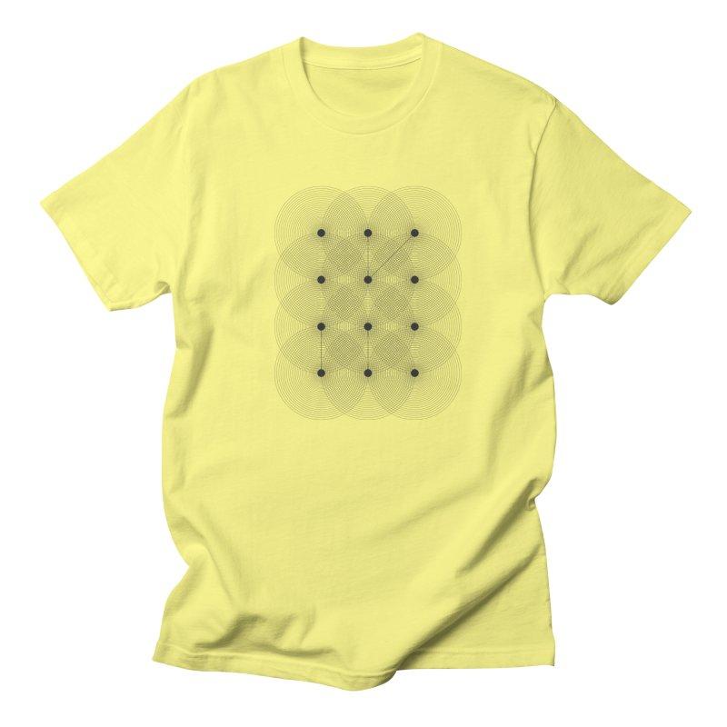 geometrical distortion 1 Men's T-Shirt by virbia's Artist Shop