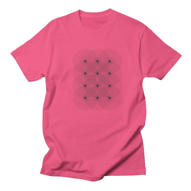 geometrical distortion 1 Men's Regular T-Shirt by virbia's Artist Shop